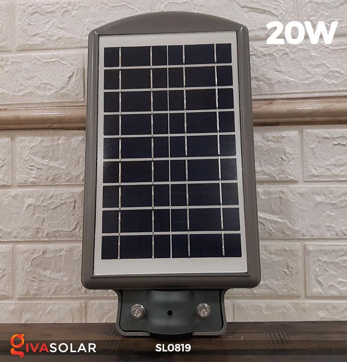 Đèn LED đường phố năng lượng mặt trời SL0819 4