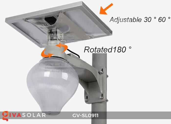Đèn đường năng lượng mặt trời cao cấp SL0911 4