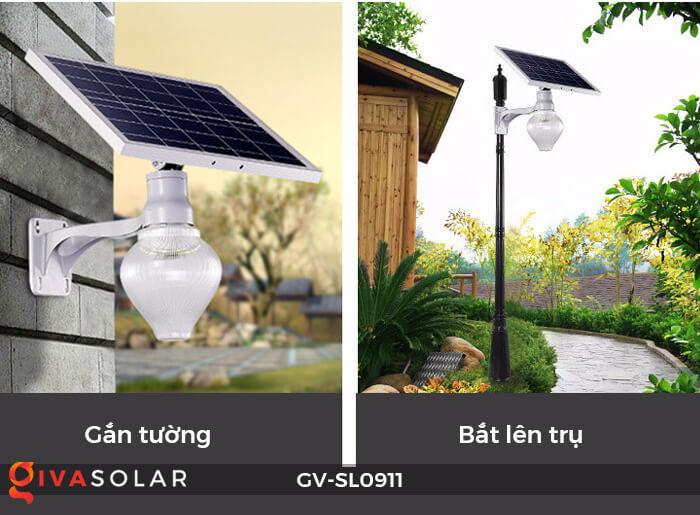 Đèn đường năng lượng mặt trời cao cấp SL0911 6