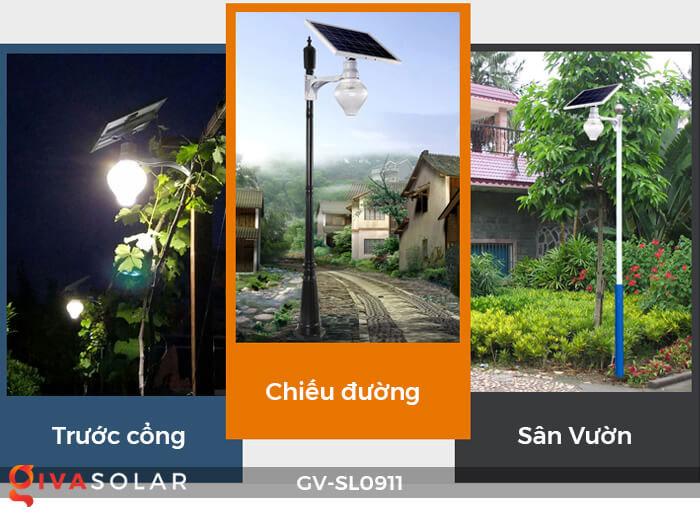 Đèn đường năng lượng mặt trời cao cấp SL0911 7