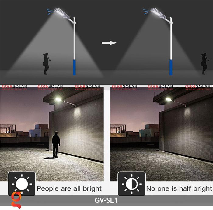 Đèn chiếu sáng đường năng lượng mặt trời SL1 10