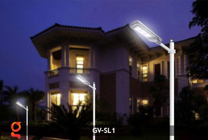 Đèn chiếu sáng đường năng lượng mặt trời SL1 12