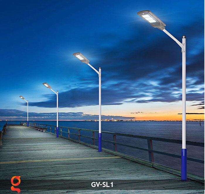 Đèn chiếu sáng đường năng lượng mặt trời SL1 13