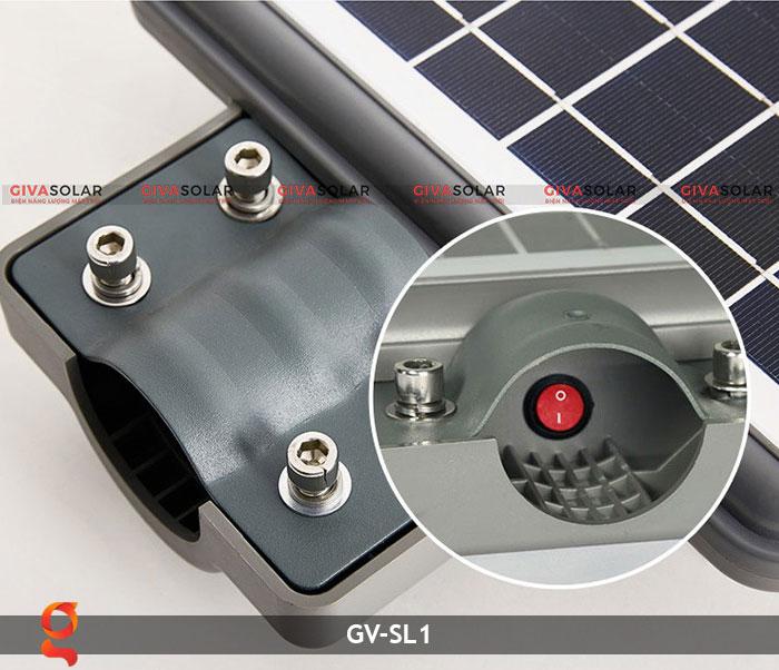 Đèn chiếu sáng đường năng lượng mặt trời SL1 8