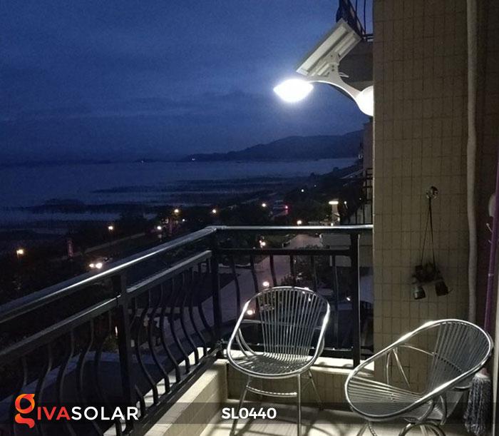 Đèn đường năng lượng mặt trời SL0440 10