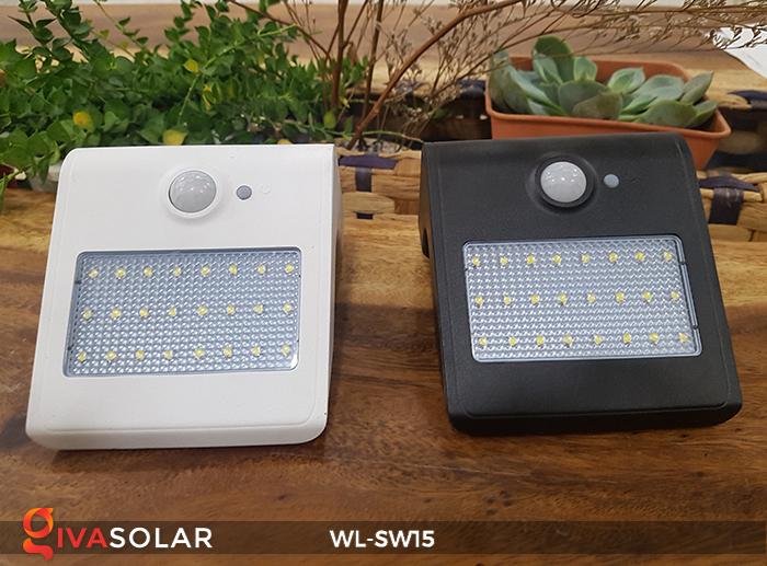 Đèn gắn tường sử dụng năng lượng mặt trời WL-SW15 1