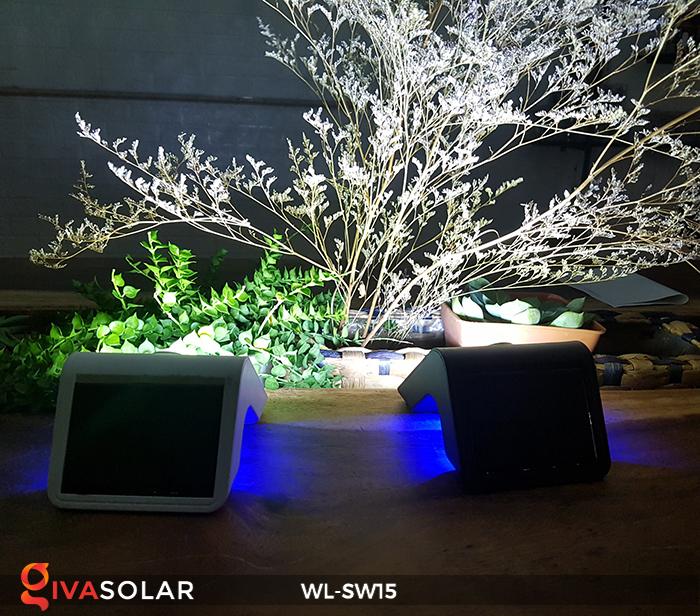 Đèn gắn tường sử dụng năng lượng mặt trời WL-SW15 10
