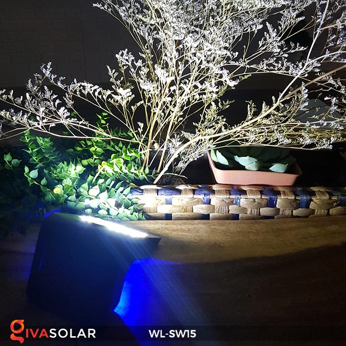 Đèn gắn tường sử dụng năng lượng mặt trời WL-SW15 12