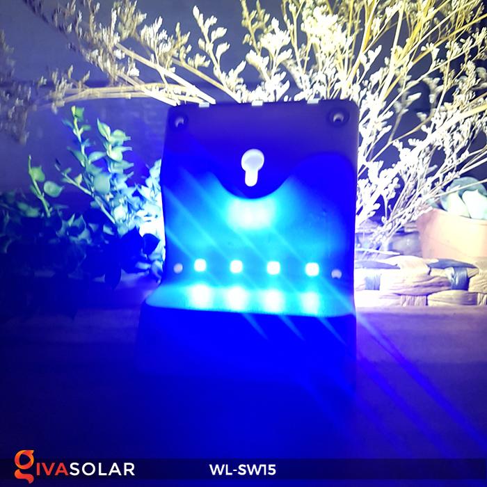 Đèn gắn tường sử dụng năng lượng mặt trời WL-SW15 14