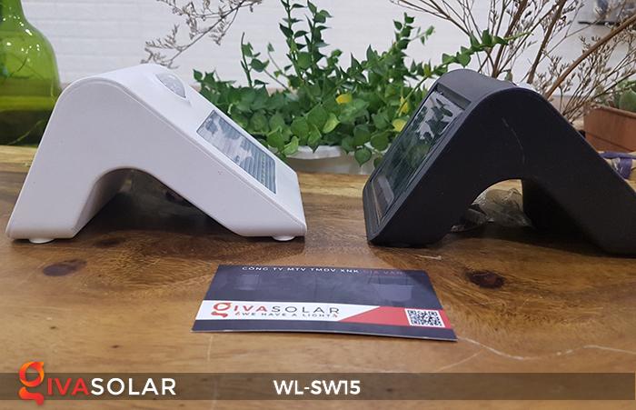 Đèn gắn tường sử dụng năng lượng mặt trời WL-SW15 2