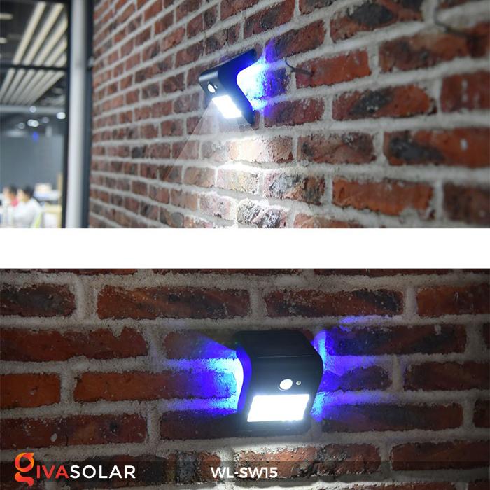 Đèn gắn tường sử dụng năng lượng mặt trời WL-SW15 26