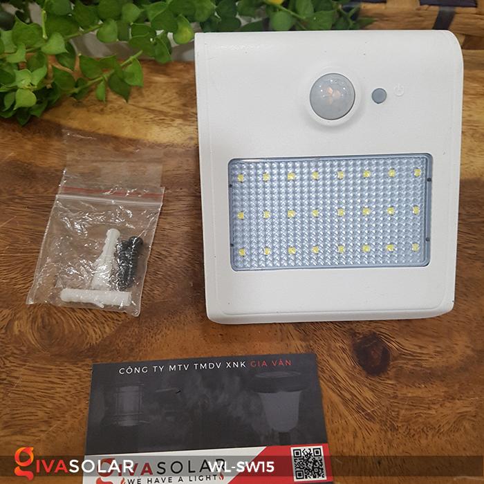 Đèn gắn tường sử dụng năng lượng mặt trời WL-SW15 3