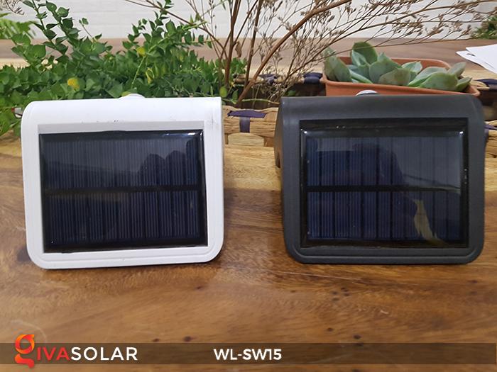 Đèn gắn tường sử dụng năng lượng mặt trời WL-SW15 5