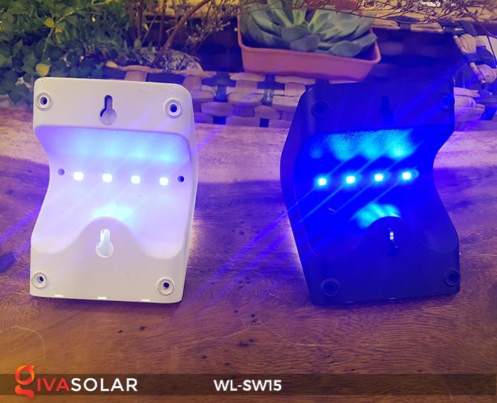 Đèn gắn tường sử dụng năng lượng mặt trời WL-SW15 7