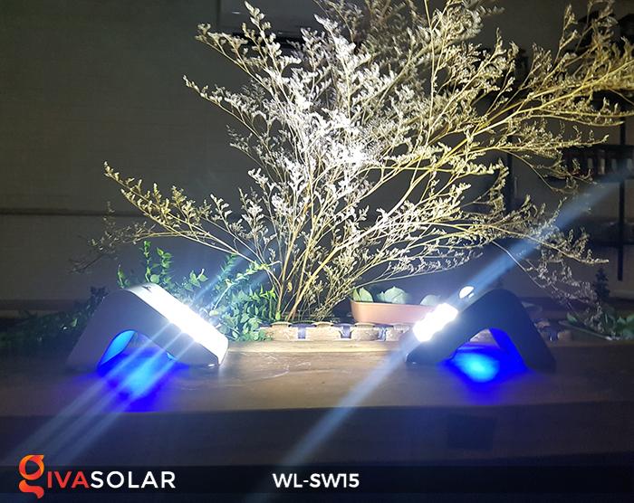 Đèn gắn tường sử dụng năng lượng mặt trời WL-SW15 8