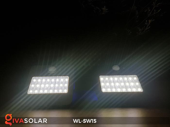 Đèn gắn tường sử dụng năng lượng mặt trời WL-SW15 9
