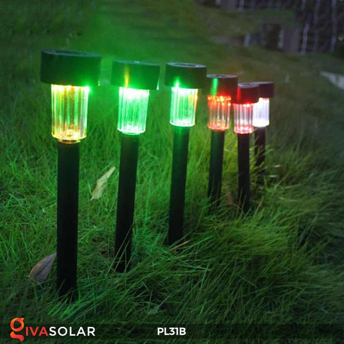 Đèn LED cắm đất sử dụng năng lượng mặt trời PL31B 10