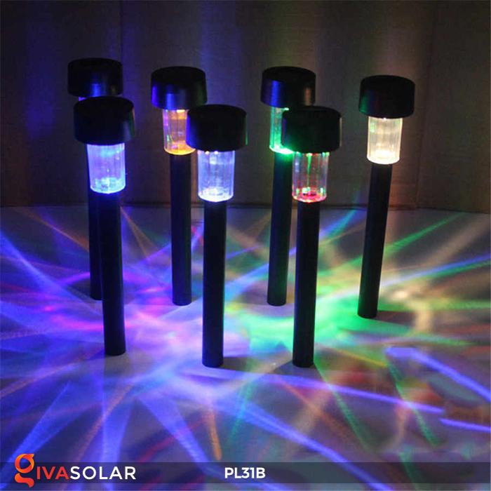 Đèn LED cắm đất sử dụng năng lượng mặt trời PL31B 11