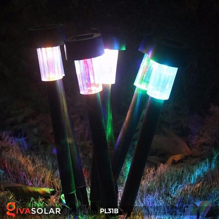 Đèn LED cắm đất sử dụng năng lượng mặt trời PL31B 4