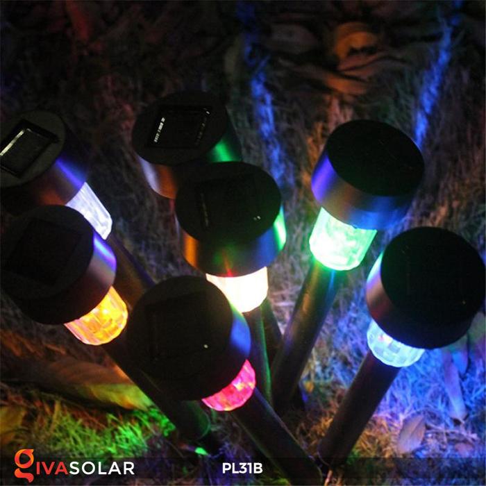 Đèn LED cắm đất sử dụng năng lượng mặt trời PL31B 6