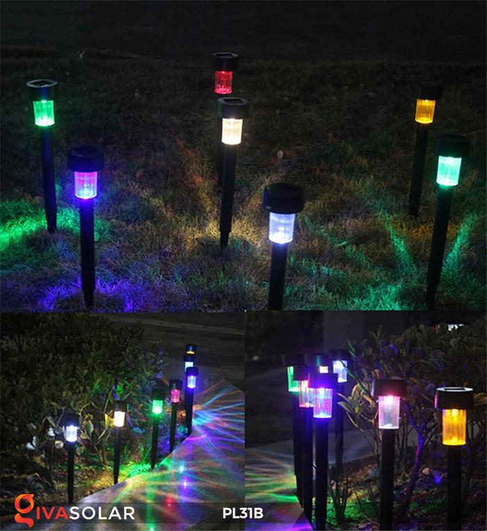 Đèn LED cắm đất sử dụng năng lượng mặt trời PL31B 7