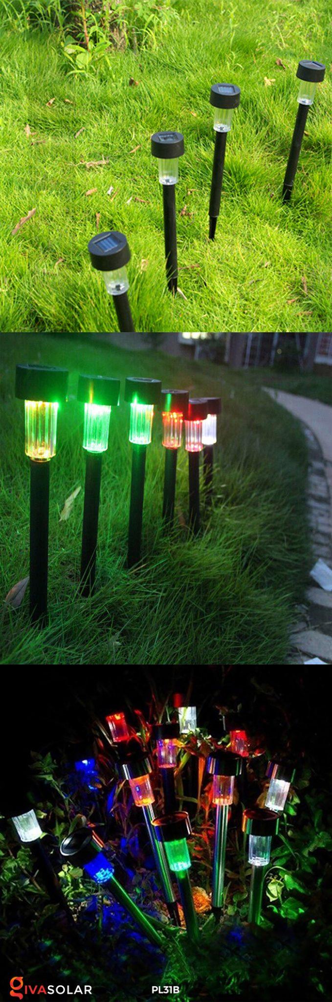 Đèn LED cắm đất sử dụng năng lượng mặt trời PL31B 8