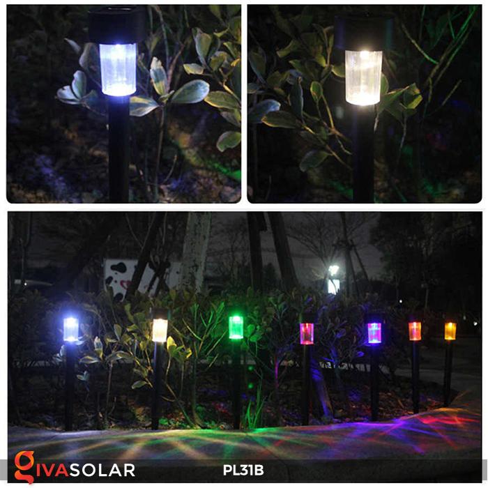 Đèn LED cắm đất sử dụng năng lượng mặt trời PL31B 9