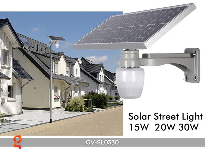 Đèn chiếu sáng đường năng lượng mặt trời SL0330 1