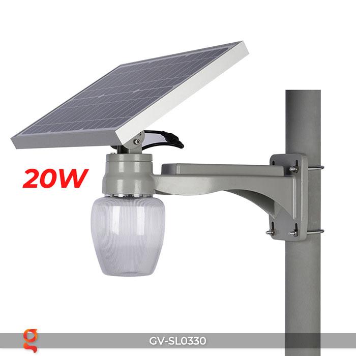 Đèn chiếu sáng đường năng lượng mặt trời SL0330 12