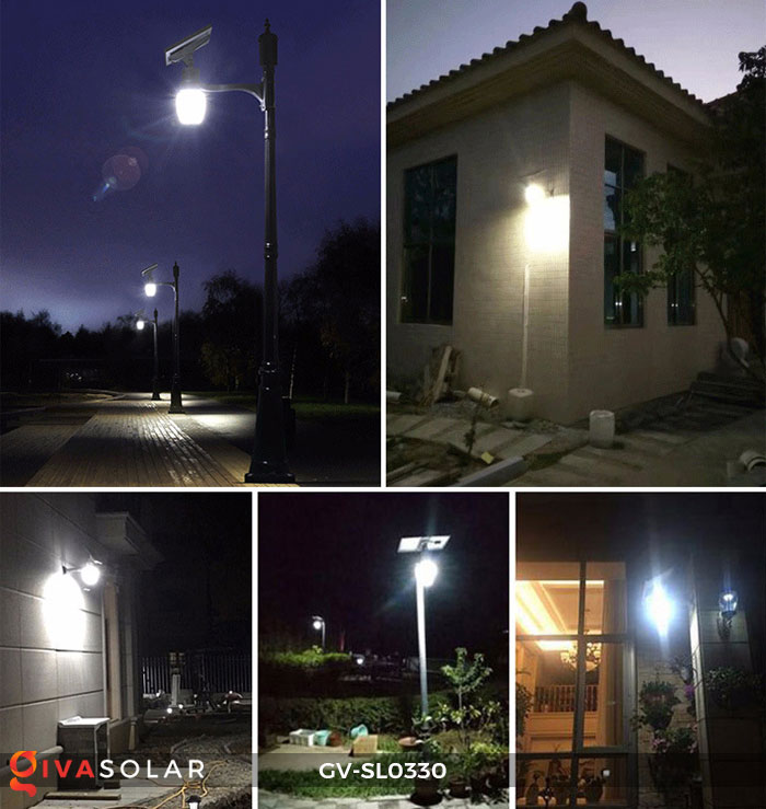 Đèn chiếu sáng đường năng lượng mặt trời SL0330 5