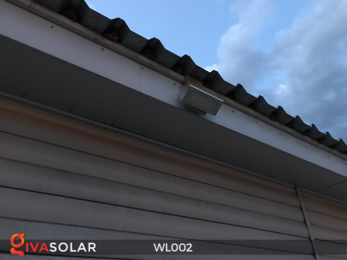 Đèn Led ốp tường năng lượng mặt trời WL002 12