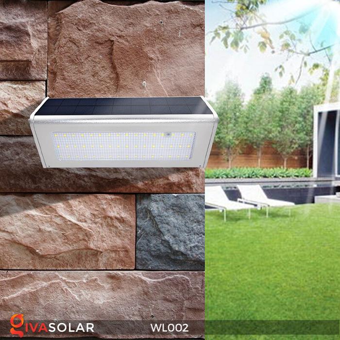 Đèn Led ốp tường năng lượng mặt trời WL002 5