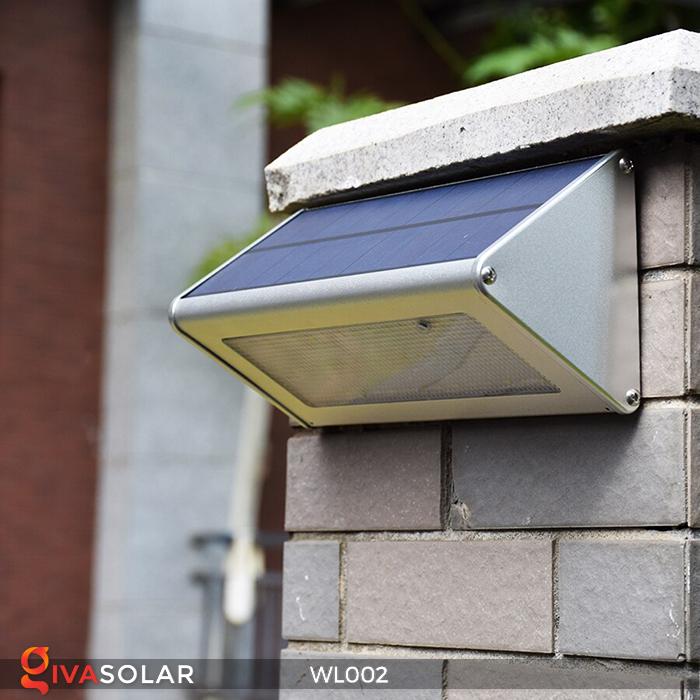 Đèn Led ốp tường năng lượng mặt trời WL002 6