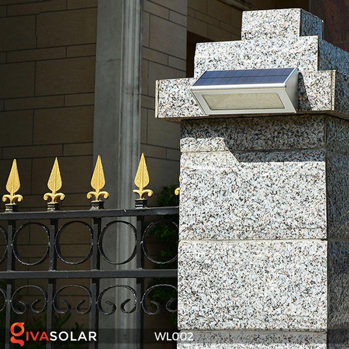 Đèn Led ốp tường năng lượng mặt trời WL002 7