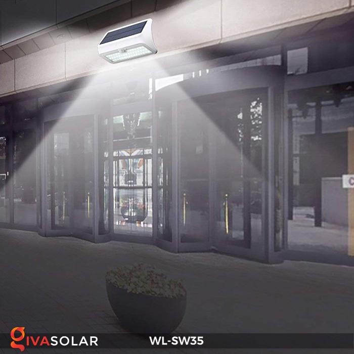 Đèn LED treo tường năng lượng mặt trời WL-SW35 11