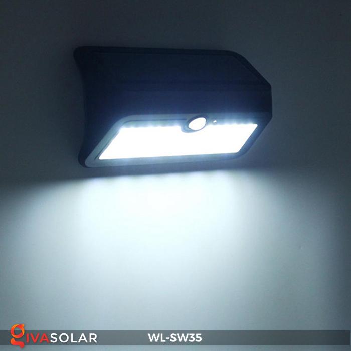 Đèn LED treo tường năng lượng mặt trời WL-SW35 13