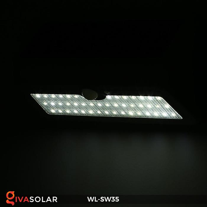Đèn LED treo tường năng lượng mặt trời WL-SW35 14