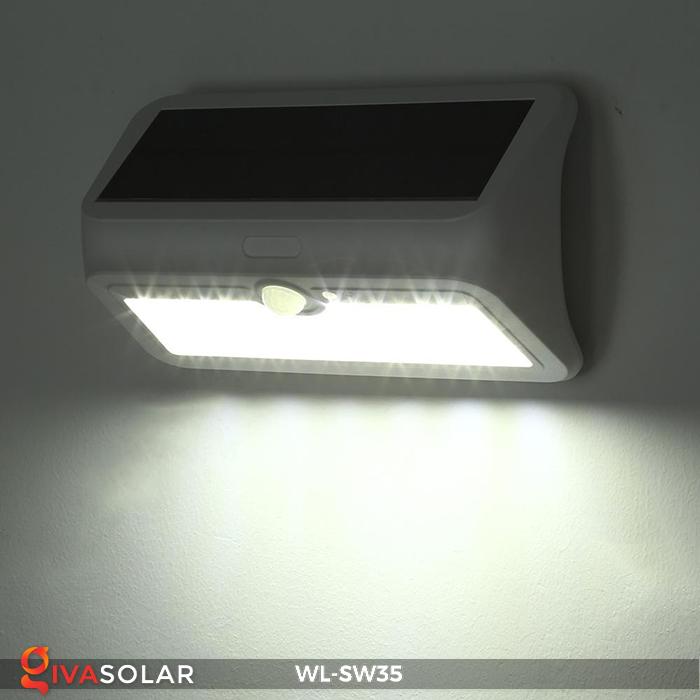 Đèn LED treo tường năng lượng mặt trời WL-SW35 16