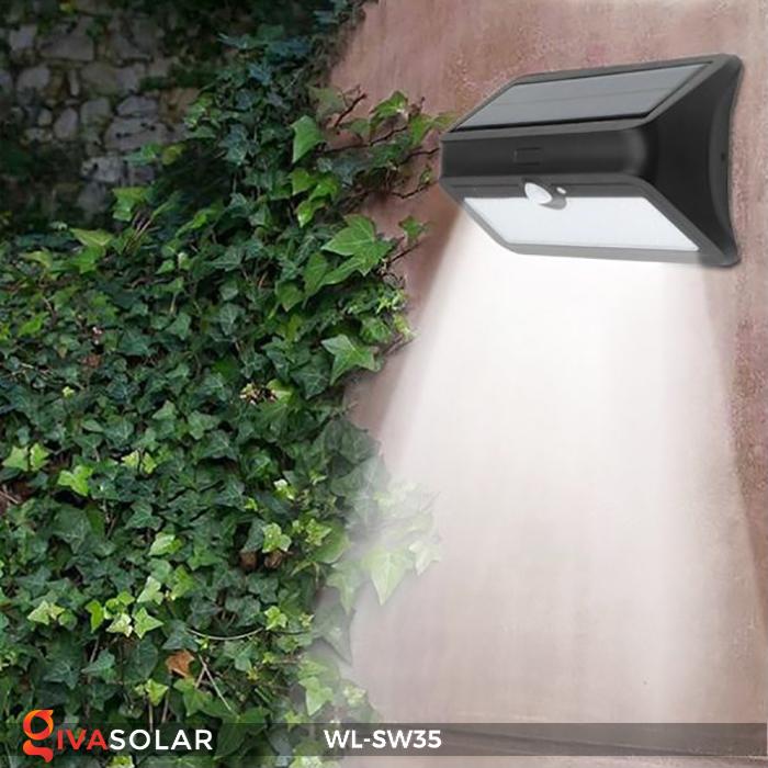 Đèn LED treo tường năng lượng mặt trời WL-SW35 17