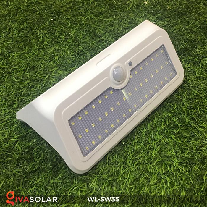 Đèn LED treo tường năng lượng mặt trời WL-SW35 2