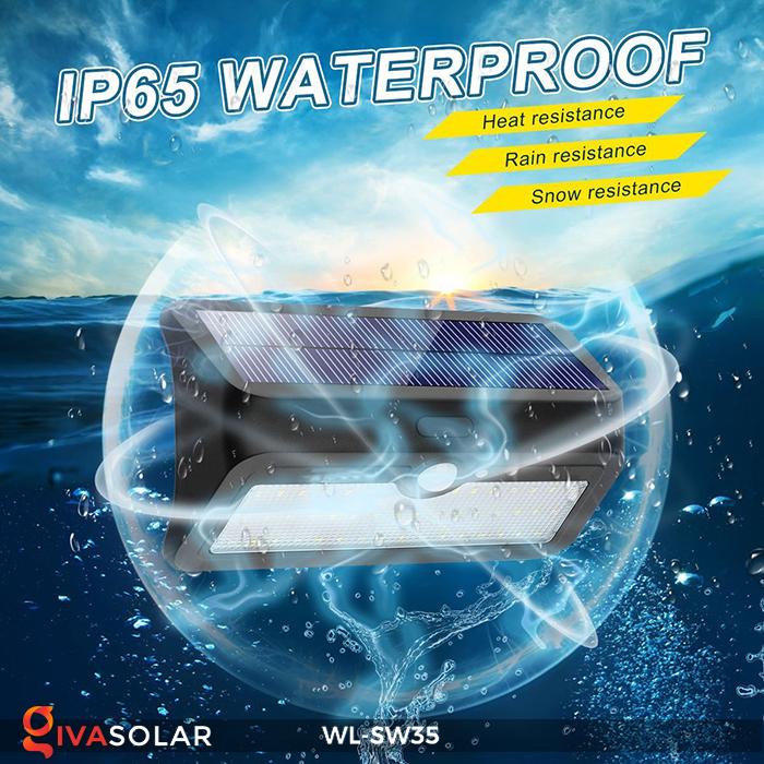 Đèn LED treo tường năng lượng mặt trời WL-SW35 23