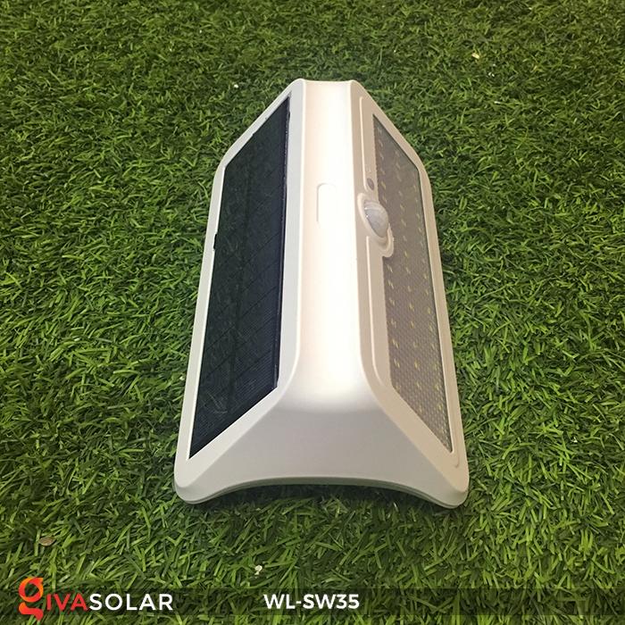 Đèn LED treo tường năng lượng mặt trời WL-SW35 5