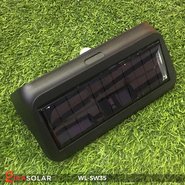 Đèn LED treo tường năng lượng mặt trời WL-SW35 9