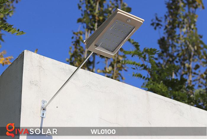 Đèn LED treo tường năng lượng mặt trời WL0100 12