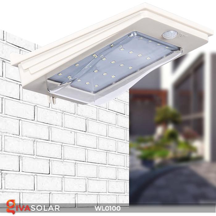 Đèn LED treo tường năng lượng mặt trời WL0100 13