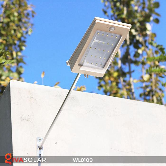 Đèn LED treo tường năng lượng mặt trời WL0100 14