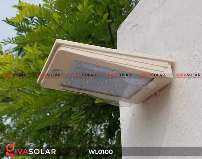 Đèn LED treo tường năng lượng mặt trời WL0100 15