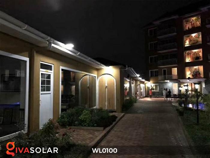 Đèn LED treo tường năng lượng mặt trời WL0100 17