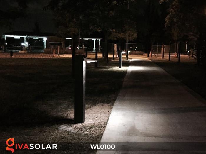 Đèn LED treo tường năng lượng mặt trời WL0100 19