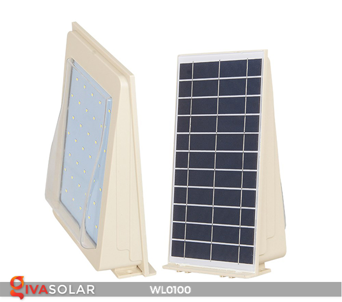 Đèn LED treo tường năng lượng mặt trời WL0100 6